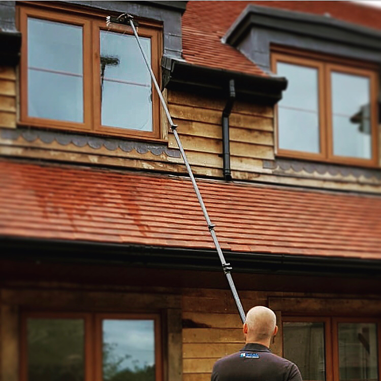 window cleaner farnham
